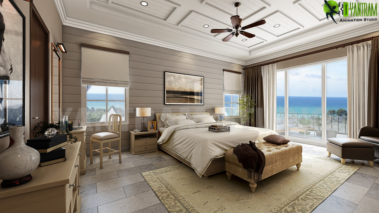 Beautiful Beach Interior Room Decorating Ideas For Your Inspiration - Beautiful Beach Interior Room Decorating Ideas For Your Inspiration, Yantram Architectural Design Studio lots of experience in Photorealistic Interior Rendering, Photo-Realistic Renderings Firm, 3D Interior Rendering Services. http://bit.ly/2ha76zX by yantramstudio