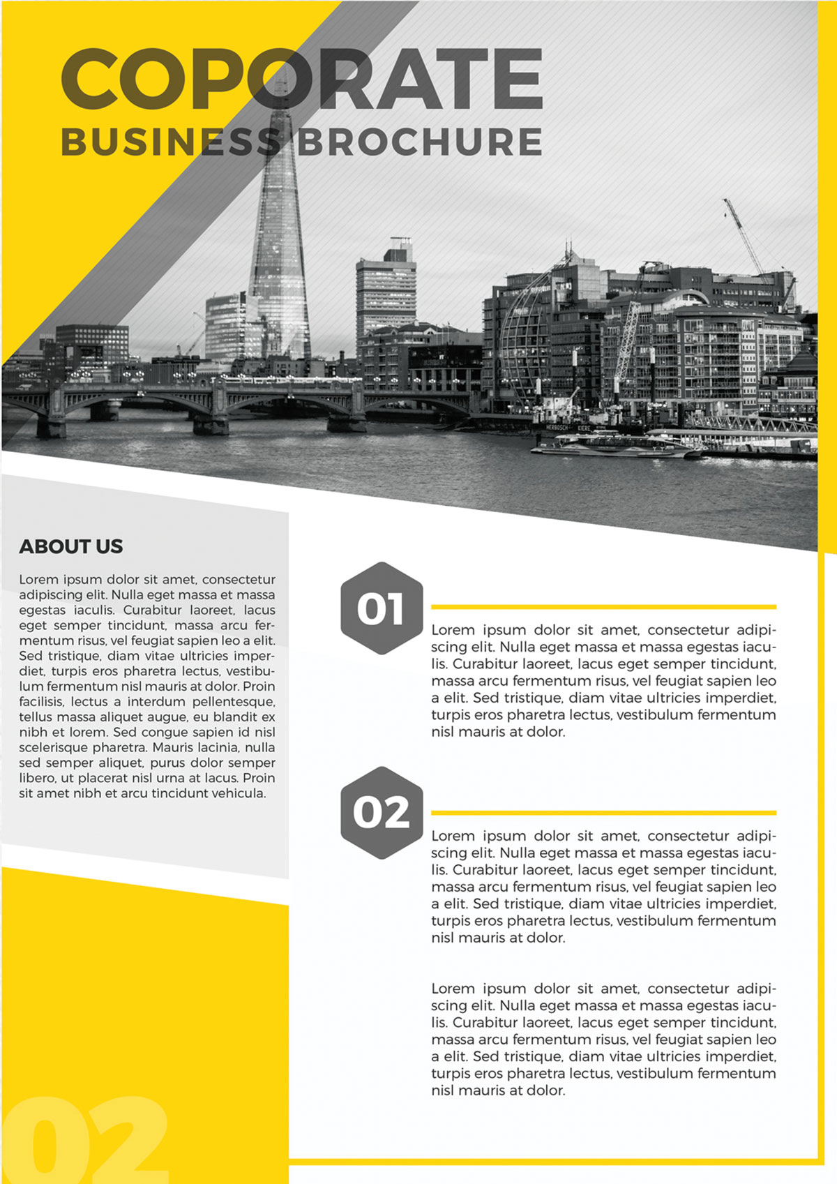 Real Estate Brochure Ideas By Real Estate Digital Branding Agency - New York, USA - Digital Media Branding & Broadcasting Agency provides highly creative Interactive web app, Web Development, corporate identity. by yantramstudio