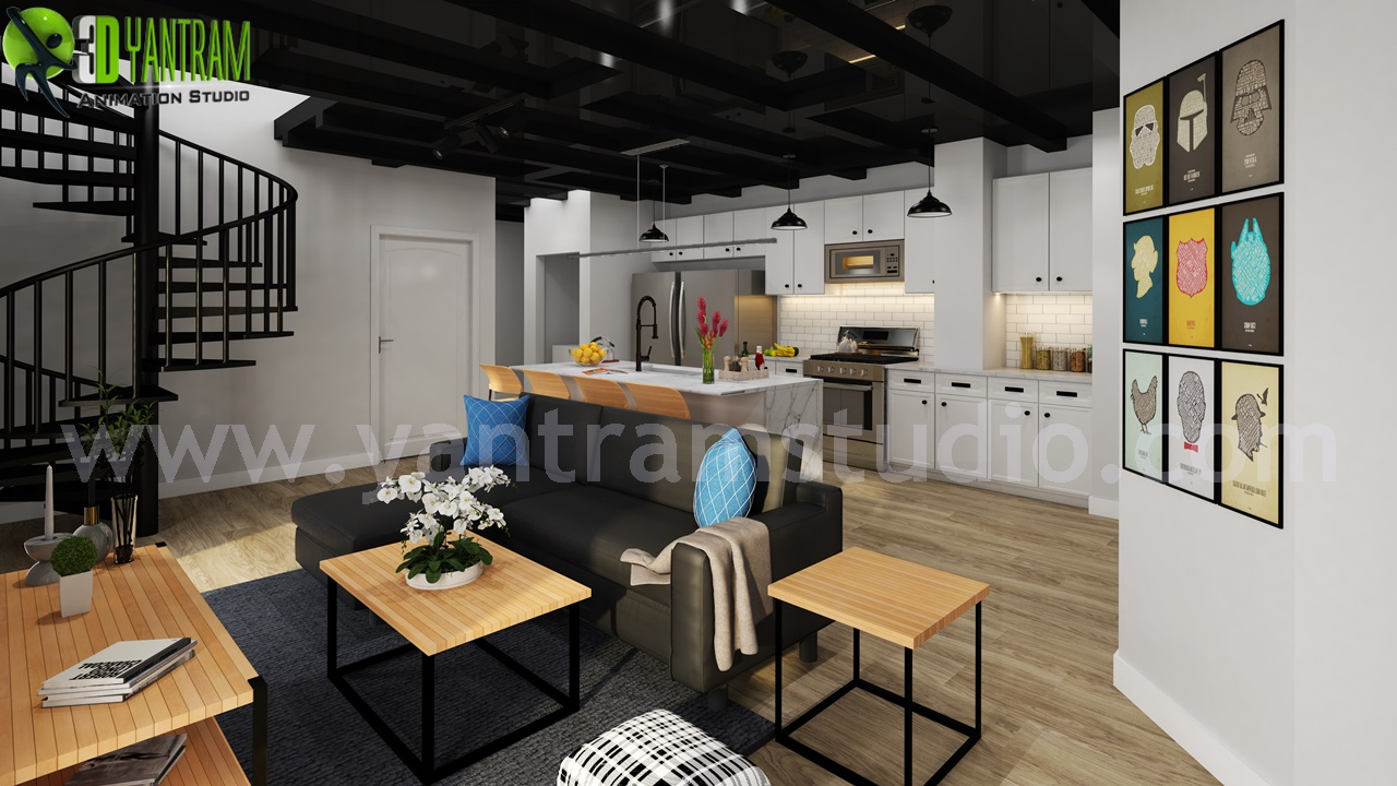 Modern Living Room Designs Ideas | 3d Interior Design by Yantram 3d interior designers - Doha, Qatar - Find inspirational living room decorating ideas here. We feature pictures of living room interior designs, foyers, furniture and occasionally tips and tricks on how you can make your living room more beautiful.