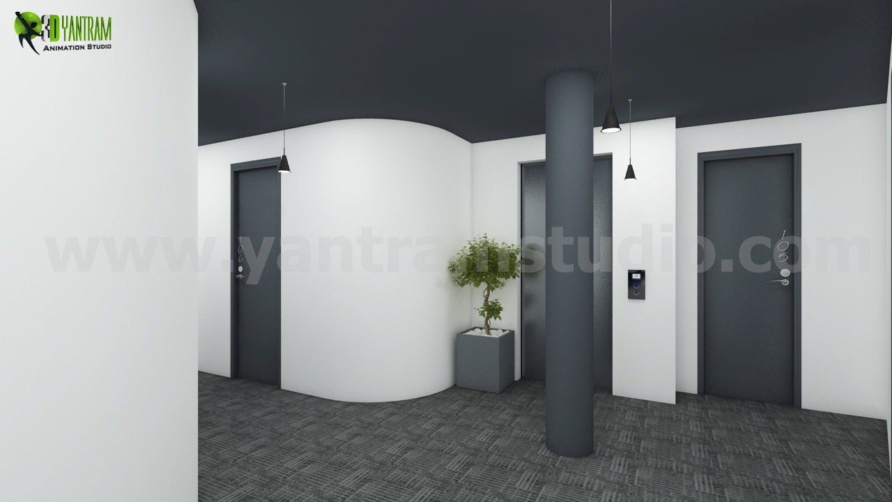 3D Interior Rendering Design  - architectural rendering service by yantramstudio