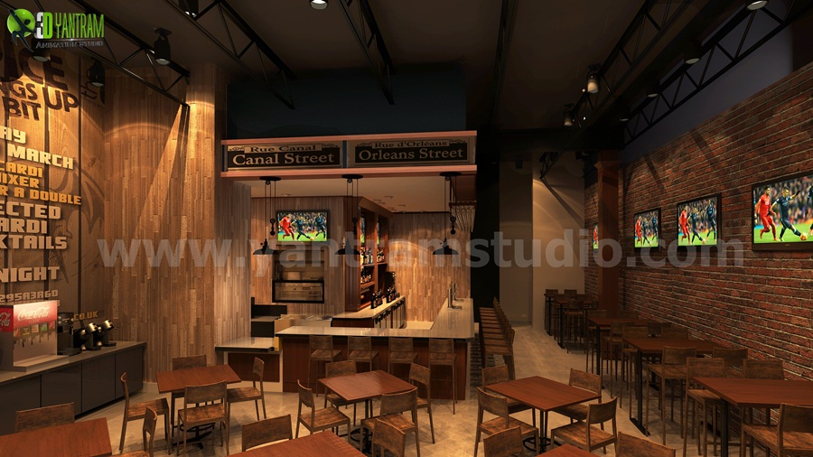 Unique Bar Ideas by Yantram 3d interior designers Perth - Our Firm Interior Designer Artist is expert in all type of Interior Design like Home, Hotel, Resort, Malls and Offices. The customer will also have a visualization of what interiors can do if he buys the property. by yantramstudio
