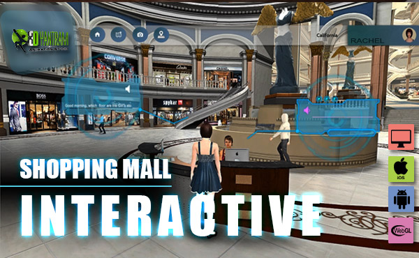 "Virtual Interactive shopping Mall Application By Yantram virtual reality studio New York, USA - Yantram Virtual Reality Realstate marketing-oriented website that is well designed with ""calls to action"" can literally catapult your real estate business to the next level.  Read more: http://www.yantramstudio.com/virtual-reality.html by yantramstudio"