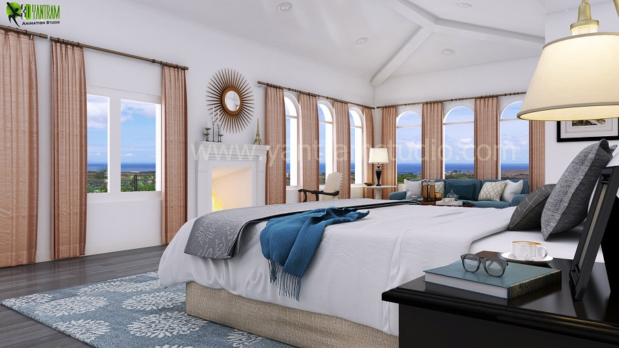 Master Bedroom Design - Master Bedroom Interior Design. Our Interior Design Studio has Expertise in Bedroom Design, Photorealistic Design, Interior modeling, Interior Design Services. We have collection of Elegant and Modern interior design ideas for your home. We are expert in  by yantramstudio