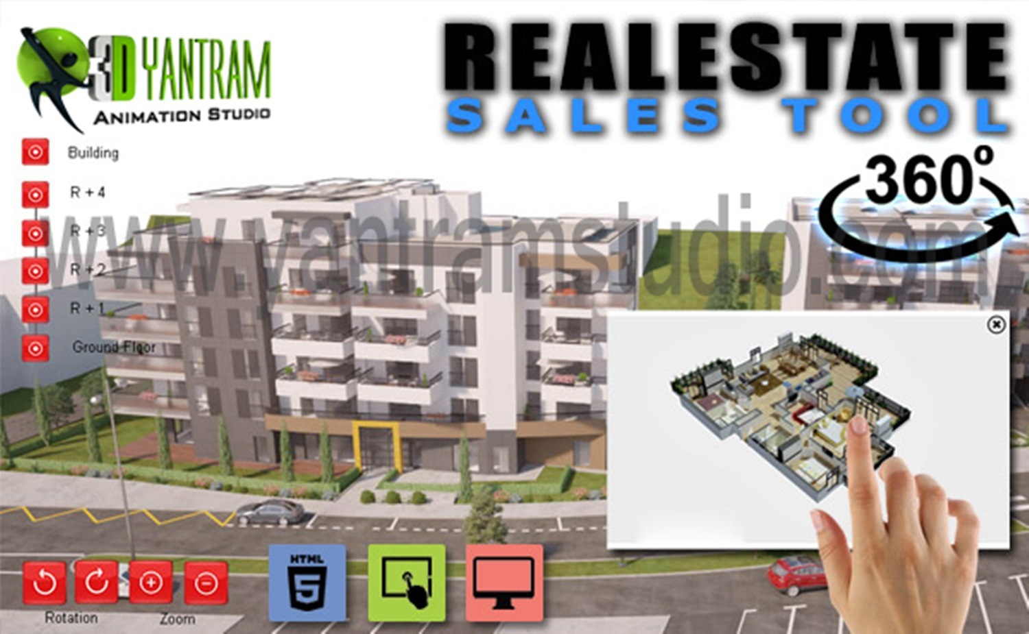 VR 360 Walkthrough By Yantram Virtual Reality Studio- Boston, USA - VR Realstate marketing-oriented website that is well designed with calls to action can literally catapult your real estate business to the next level. Ninety-two percent. by yantramstudio
