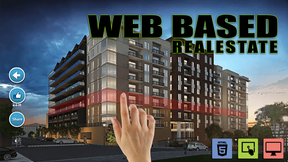 1-webbase-real-estate-by-virtual-reality-studio.jpg - Virtual Reality Companies marketing Application - oriented Website that is Well Design with