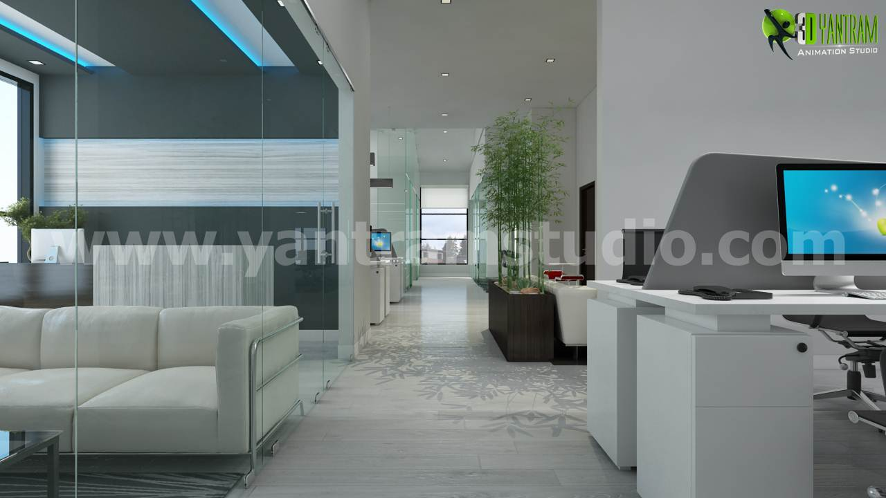 Office 3D Interior Rendering Beautiful Lobby Design Ideas.jpg -  by yantramstudio