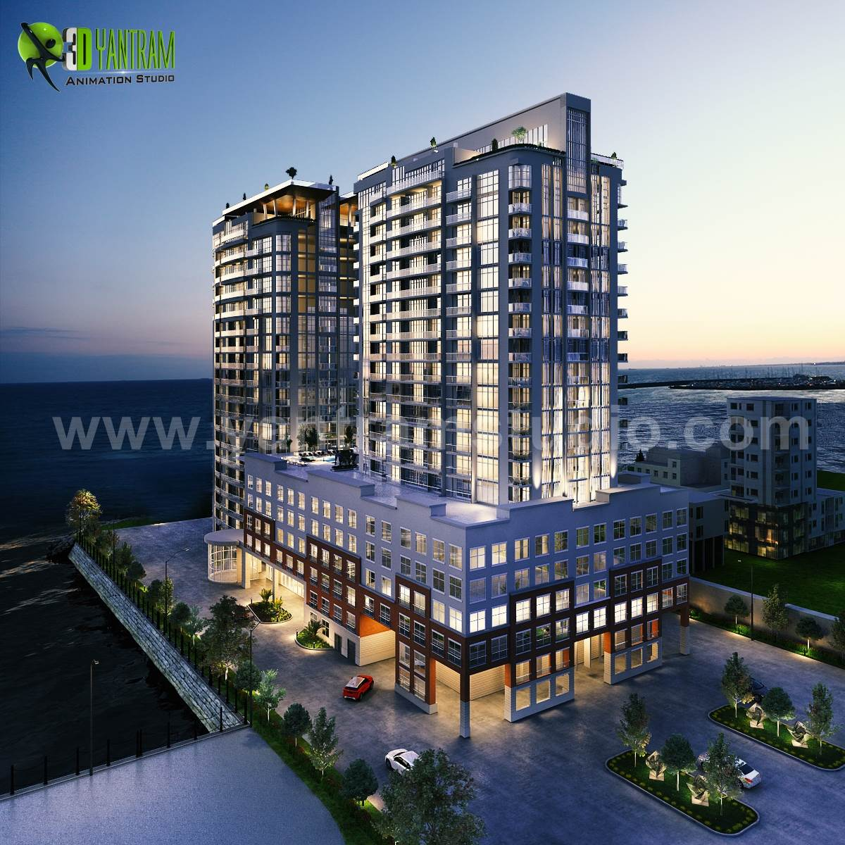 3d-modern-luxury-high-rise-building-exterior-dusk-view-architectural-animation-design-studio.jpg -  by yantramstudio