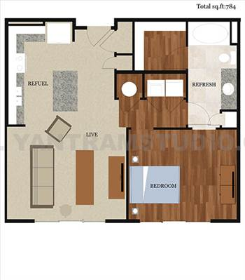 Modern Architectural 2D Floor Plan design concept - Yantram Architectural Design Studio 2D Floor Plans are detailed with room names and size and we can floor plan designer provide furniture placement idea as well. http://www.yantramstudio.com/2d-floor-plan.html