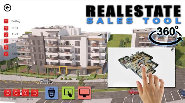 360 Interior Web Application Virtual Reality - Real Estate Web 360 Interactive Application
