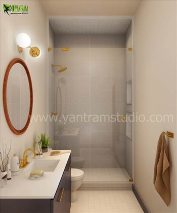 Master Bathroom Interior Design, Our Interior Design Studio has collection of stylish and modern interior design ideas for your Bathroom. We are expert in Bathroom Interior Design Qatar, Architectural Design Studio Mexico, 3D Interior Design Germany, Arch