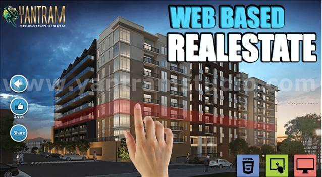 Interactive Web Based Real Estate VR APP - Project 5684 :- Web based Real estate Architecture VR Apps Development