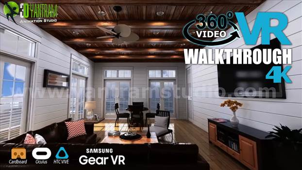 Interactive 360° VR Walkthrough Video Developed - Project 143: Interactive 360° Panoramic Virtual Reality Walkthrough