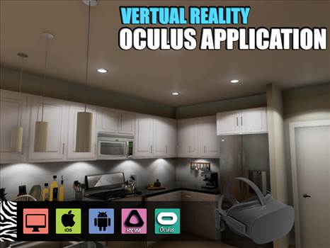 Interactive Kitchen Design for Oculus Device - Project 197:- Virtual Reality Kitchen Design for Oculus Device