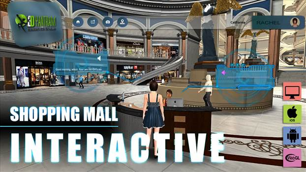 Real Estate VR Shopping Mall App Development - Project 142: VR Shopping Mall Application