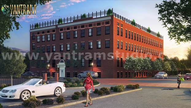 Modern Residential & Commercial 3D Exterior Design - Project 834:- Residential & Commercial 3D Exterior Building Designs Ideas