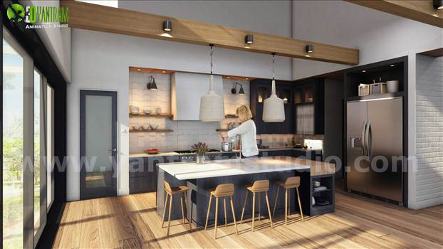 Project 120: Conceptual Residential Walkthrough Animation