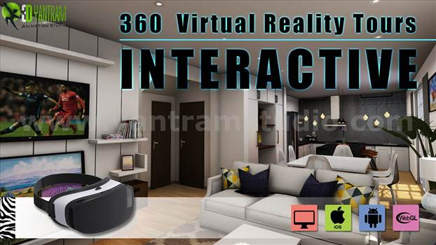 Interactive 360 Virtual Reality Tours Mobile App - Interactive 360 Virtual Reality Tours App - (Unity3D, Android, iOS, Mobile) for residential architectural 360 degrees Interactive virtual tour. This mobile application is design for viewers to get direct access to the property and view 360 walkthroughs th