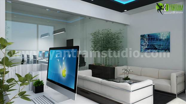 office interior design toronto presentation of commercial story building with modern office including complete set interior unique modern office design toronto canada yantramstudio
