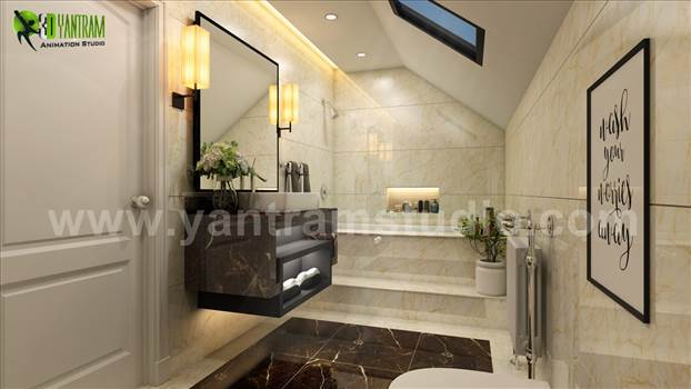 Fancy Modern Bathroom Interior Designers - Project 111: Modern Bathroom Interior Design 