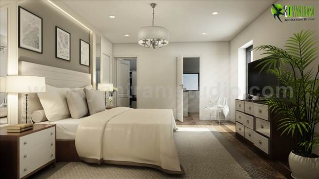 Modern Master Bedroom Ideas 3D Interior Modeling - Modern master bedroom ideas, A brand new collection of stunning bedroom with beautiful bed, wooden furniture, chandelier light, ceiling and table lights. If you are looking to update your master bedroom to be luxurious and comfortable then we are here to